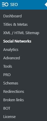 Seopress Social Networks