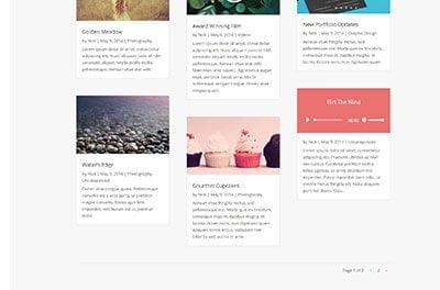 divi blog module